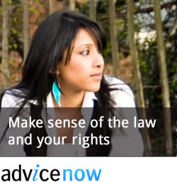 advicenow make sense of the law and your rights