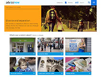 Advicenow home page